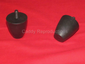 1940 - 1956 Cadillac Front Lower Arm Suspension Bumpers - Pair