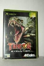 TUROK EVOLUTION GIOCO USATO XBOX EDIZIONE ITALIANA PAL GD1 53736