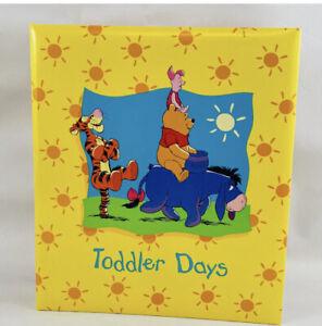 Hallmark Disney Winnie the Pooh Toddler Days Photo Album Book New Old Stock Baby