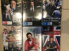 Jamie Oliver Collection DVD 6 Including Great Britain 15 Minute & More Region 4