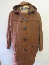 Genuine Gloverall Wool Duffle Duffel Coat Raincoat XL UK 18 Euro 46 Brown