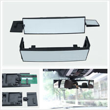 Car Truck Wide Angle Panoramic Anti-dazzling Rearview Mirror 380mm Curved Mirror