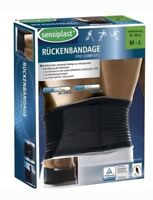 New Sensiplast Pro Comfort Stabilising Back Brace, Brace Size M-L 80-98cm