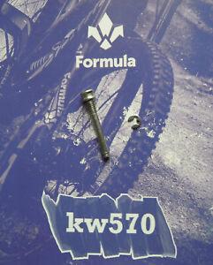 Formula - Bolt Steel / Steel Screw X Fiss. Gripper Pads Gold+ Seeger - Used