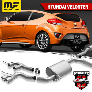 15060 2012-2017 HYUNDAI Veloster 1.6L Magnaflow Cat-Back Exhaust System
