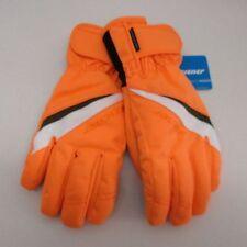AquaShied Ziener Ladies Ski Gloves TOSIMA 7.0 M Orange Black WaterProof Womans