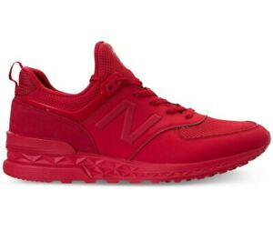 New Balance Men's 574 Shoes NEW AUTHENTIC Red MS574SCP