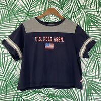 US Polo Assn 90s Y2K Graphic T-Shirt Women's Size Large