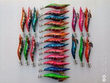 20pcs  EGI , 3.5g #3.5 Shrimp Bait Lures Fishing Lure Jig.13.5cm  laser colour