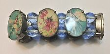 Rare vintage Cicely Mary Barker Fairy Children bracelet perfect condition