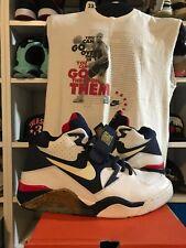 Nike lot Air Force 180 Olympic Barkley size 11 + cut off shirt Medium Vintage