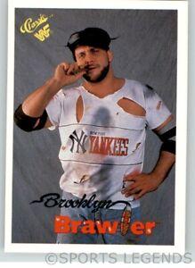 1990 Classic WWF WWE #50 Brooklyn Brawler