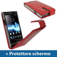 Cover e custodie rossi modello Per Sony Xperia S per cellulari e palmari per Sony Ericsson