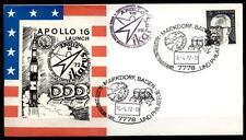Apollo 16. Briefmarkenausstellung 16.4.1972, Markdorf, Baden. SoSt. BRD 1972