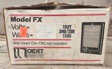 The Cadet Com-Pak Fan Forced 1500 240V Fan Wall Heater New In Box