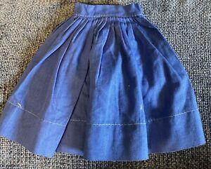 Gorgeous Vintage Cotton Skirt For Antique Or Vintage Doll