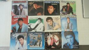 """Lot of 12 x Shakin' Stevens 7"""" Singles **EXCELLENT OR BETTER**LISTED"""