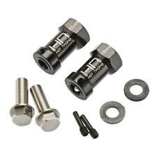 Hot-Racing SCX10FT01 Wheel Hub Extensions 15mm w/12mm Hex SCX1 (2)