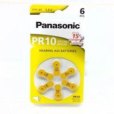 12x Piles Panasonic PR10 Piles Ecouteurs 10AU DA10 ZA10 V10