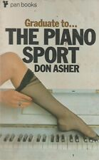 The Piano Sport, Don Asher - 1970 Pan Paperback, Vintage Adult Fiction