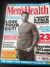 True Blood RYAN KWANTEN PHOTO COVER MEN'S HEALTH Magazine DEC 2010 CHRIS PINE