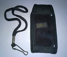 Nokia 8210/8310 Black Leather phone pouch with belt clip NEW