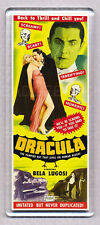 DRACULA 1931 movie poster LARGE 'TALL' FRIDGE MAGNET - CLASSIC BELA !