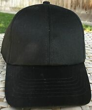DPC Dorfman Pacific Fitted Ball Cap M 57cm 7 1/8 baseball BLACK 100% Cotton