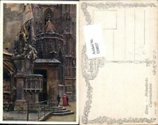 534837,Künstler AK Ernst Graner Wien Innere Stadt Stefanskirche pub B.K.W.I 792-