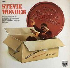 Stevie Wonder SIGNED SEALED & DELIVERED Braille Cover NEW SEALED VINYL LP