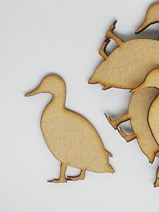 MDF Farmyard Duck 3cm, 4cm, 5cm - Laser cut wooden shape