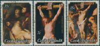 Cook Islands 1977 SG571-573 Easter set FU