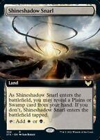 Shineshadow Snarl EXTENDED ART Single MTG Strixhaven Pack Fresh