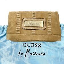 Guess By Marciano Angelique Fold Over Full Grain Leather Clutch #2112