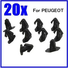 20PC Rubber Weatherstrip Moulding Seal Trim Clips For PEUGEOT 206 307 406 699786