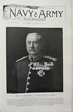 1902 PRINT ~ GENERAL SIR A. POWER PALMER INDIA'S RETIRING COMMANDER-IN-CHIEF