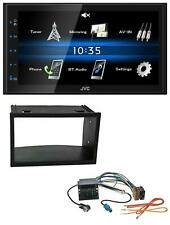 JVC 2DIN Bluetooth MP3 AUX USB Autoradio für VW Golf IV Polo Passat T4 Fox Quadl
