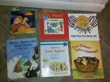 25+ children's paperback books MickyMouse, little rascles/Clifford/Cars/Tubby ti