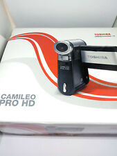 Toshiba Camileo Pro HD 128 MB Dual Pocket Digital Camera & Video Camcorder Black