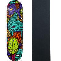 "Deathwish Skateboard Deck Williams Spew 3 Tiwn 8.125"" x 31.5"" with Grip"