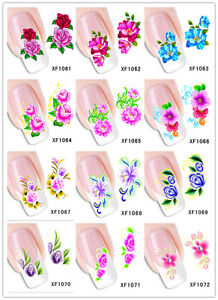 Nail Art Sticker Water Transfer Manicure Decal Multi-style Stickers