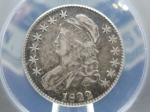 1822 Capped Bust Silver Half Dollar 50c ANACS VF30 East Coast Coin & Collectable