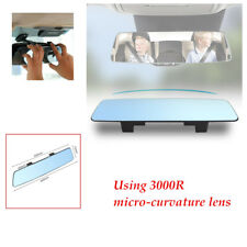 Blue Anti-Glare 2.5D full-screen Rear View Flat Mirror Car Interior Accessories