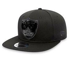 Oakland Raiders Cap New Era Cap Tonal Logo Weld 9FIFTY Snapback Cap New Size M/L