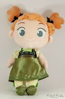 Disney Store Frozen Anna Toddler Doll Cloth Plush