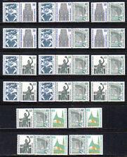 Postfrische Briefmarken aus Deutschland (ab 1945) aus Berlin mit Bauwerks-Motiv