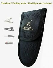 ONE NICE BRAND NEW, 15cm x 8 cm UNUSED GERBER MULTI TOOL / KNIFE POUCH, SHEATH