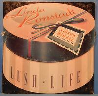 LINDA RONSTADT LUSH LIFE VINYL LP 1984 ORIGINAL PRESS GREAT COND! VG++/VG!!A