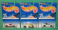 3 Hot Wheels White Ice Series Speed Machine Shadow Jet Splittin' Image II 1997