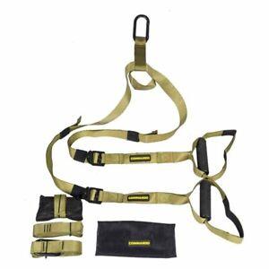 Commando Strength Suspension Training Straps like TRX Commercial Grade